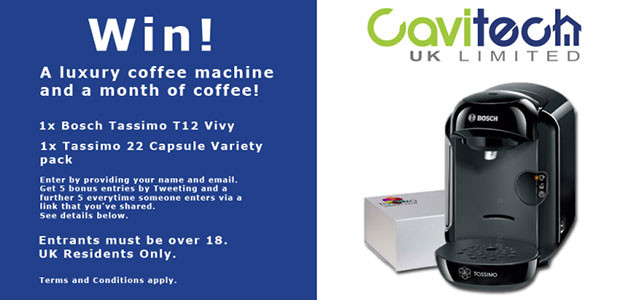 Win a Bosch Tassimo Coffee Machine Bundle! – Expired