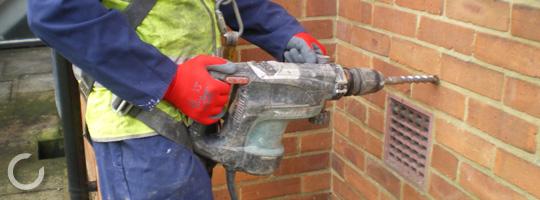 Cavity wall insulation specialists cavitech uk solutioingenieria Choice Image