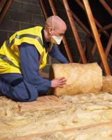 Loft Insulation Install