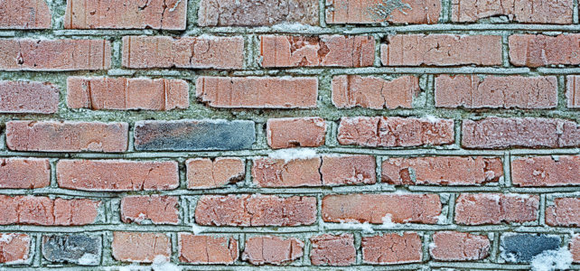 Why you need to check the pointing on your house