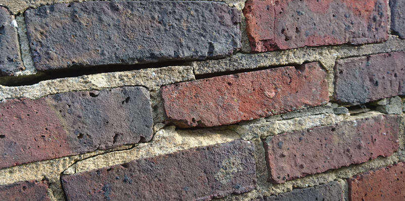 Outer face Brick Wall